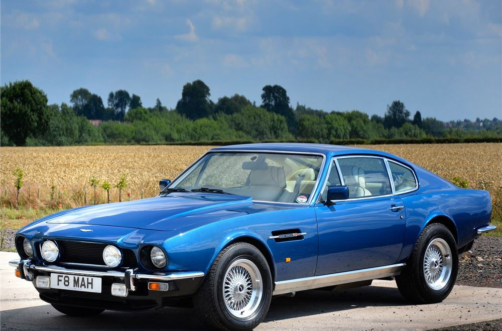 Aston Martin V8 Classic Car Review Honest John