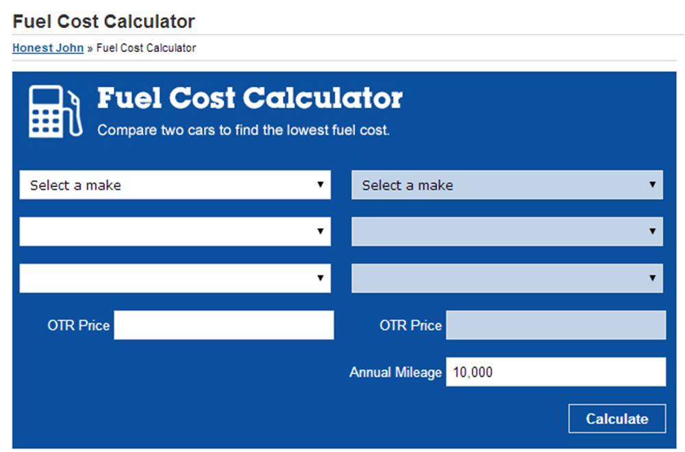 Honestjohn. Co. Uk launches fuel cost calculator midas pr agency.