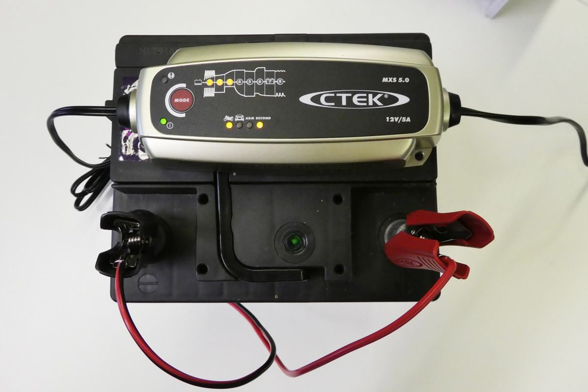 Review Ctek Mxs 50 12v Battery Charger Product Reviews Honest John Wiring Supplies Uk