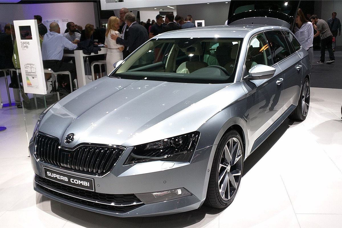 frankfurt motor show 2015 skoda introduces 96g km superb greenline motoring news honest john. Black Bedroom Furniture Sets. Home Design Ideas
