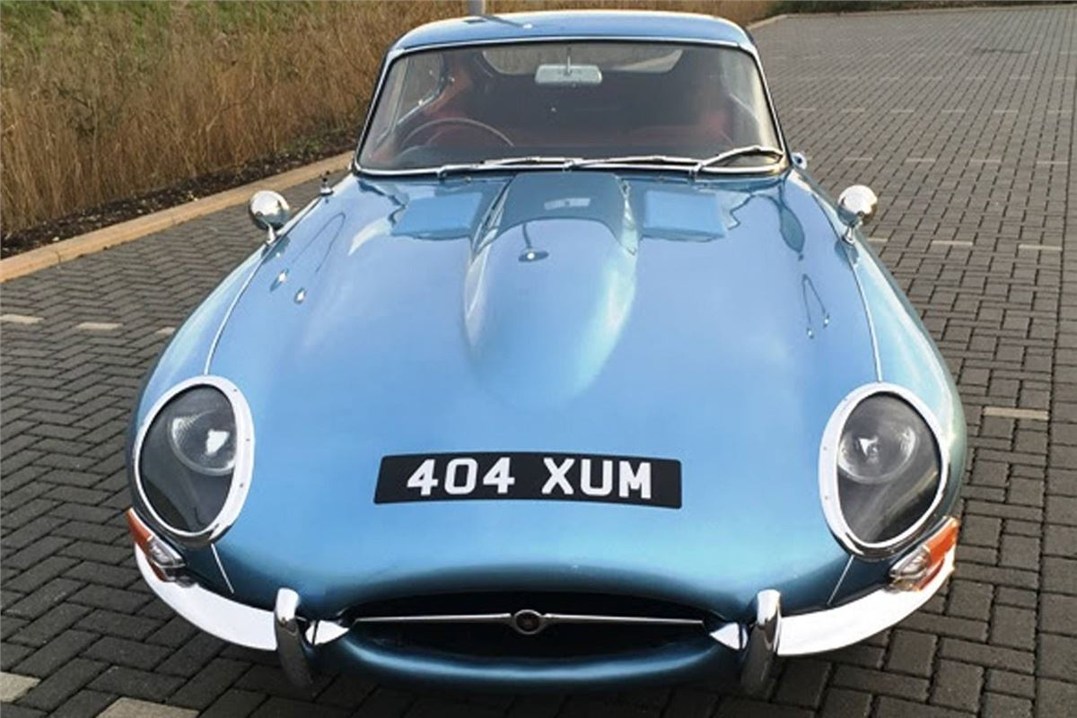 1961 Jaguar E Type Late Entry In Historics Auction On