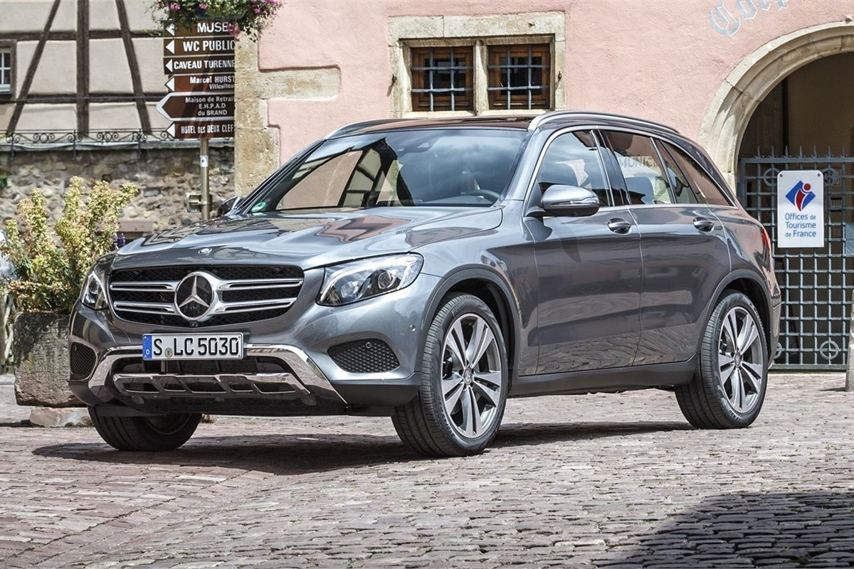 Mercedes-Benz GLC named Most Popular Compact Premium Car ...