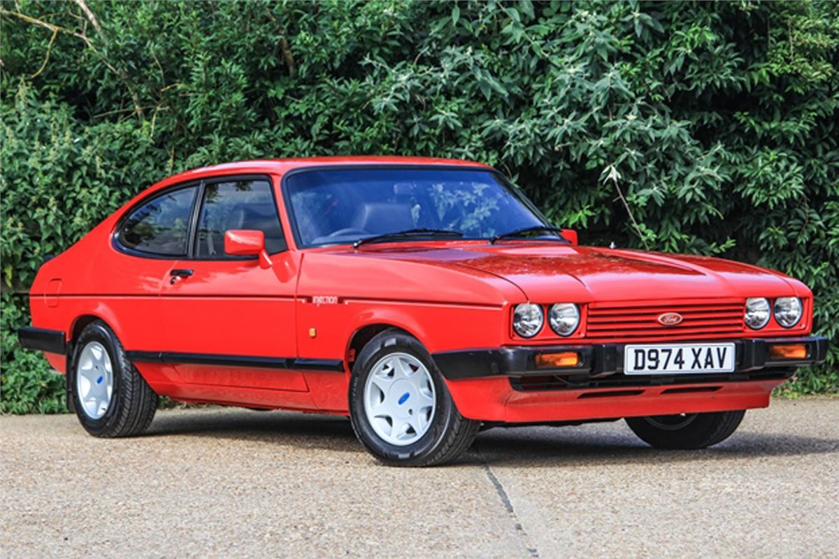 Restored Ford Capri 2 8i In Historics 20th August Auction