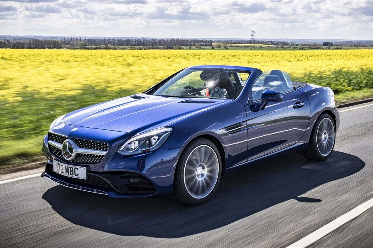 Mercedes benz slc 2016 car review honest john for Slc mercedes benz