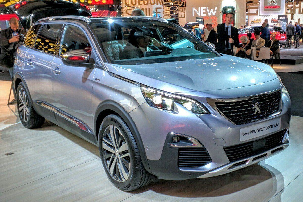 Paris Motor Show 2016 Revamped Peugeot 5008 Gets Suv