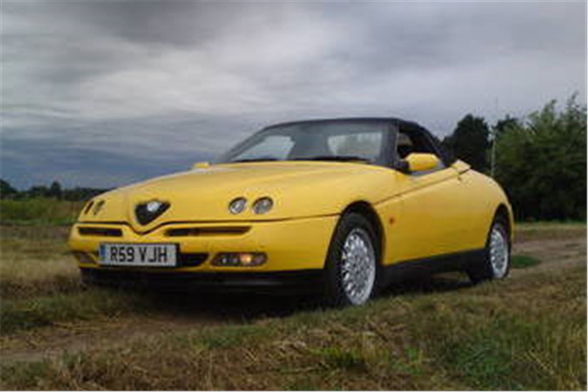 A Grand Monday Alfa Romeo 916 Spider Honest John