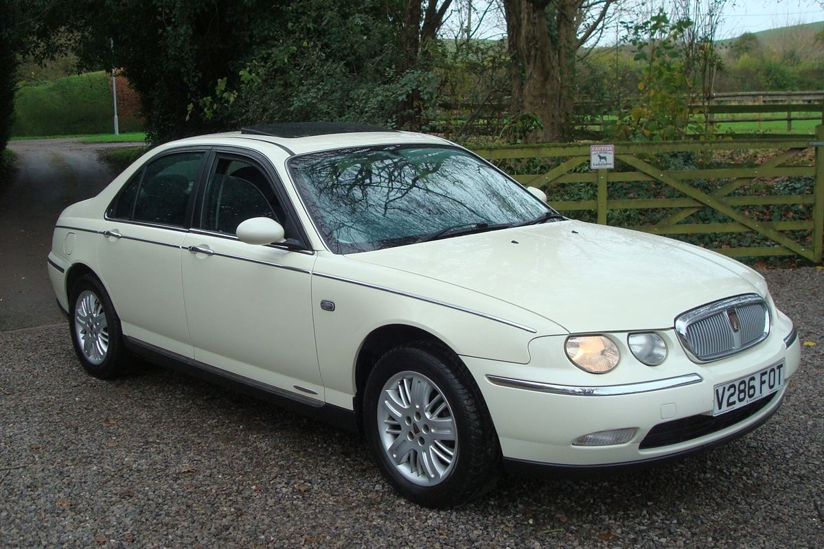 a grand monday rover 75 honest john. Black Bedroom Furniture Sets. Home Design Ideas