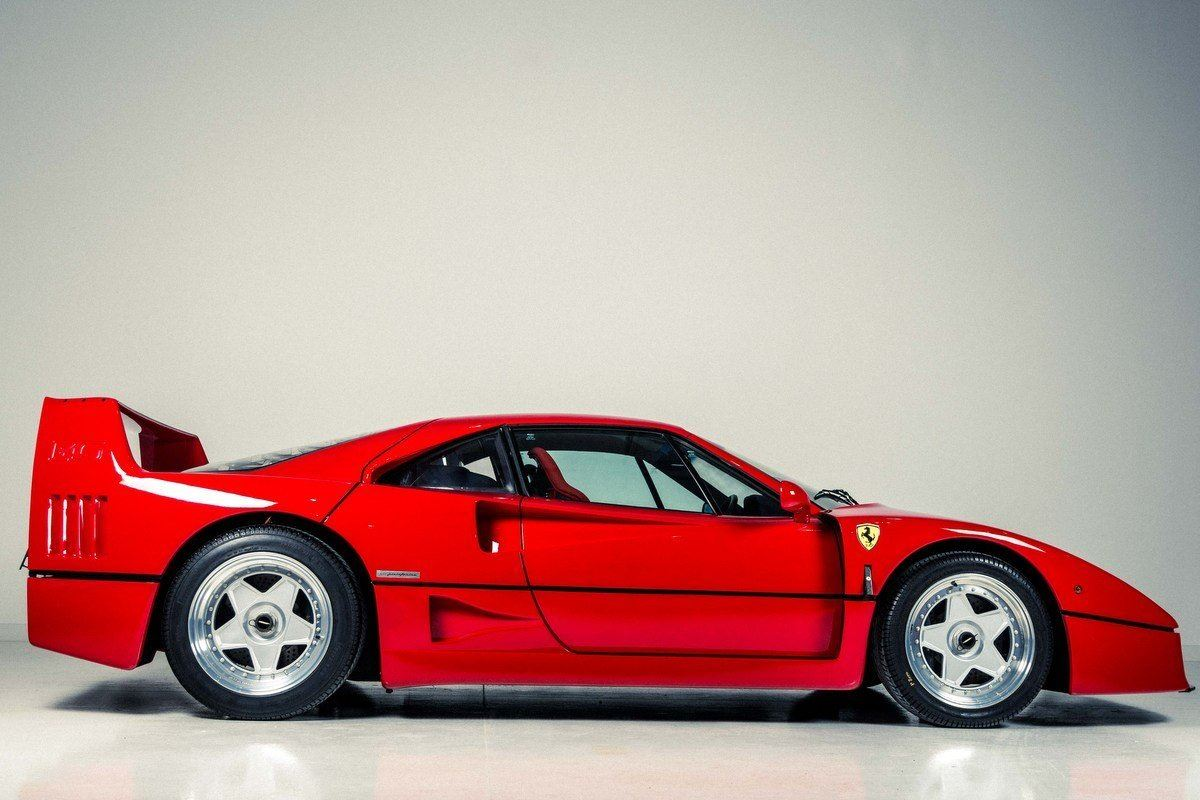 Ex Eric Clapton Ferrari F40 For Sale Honest John
