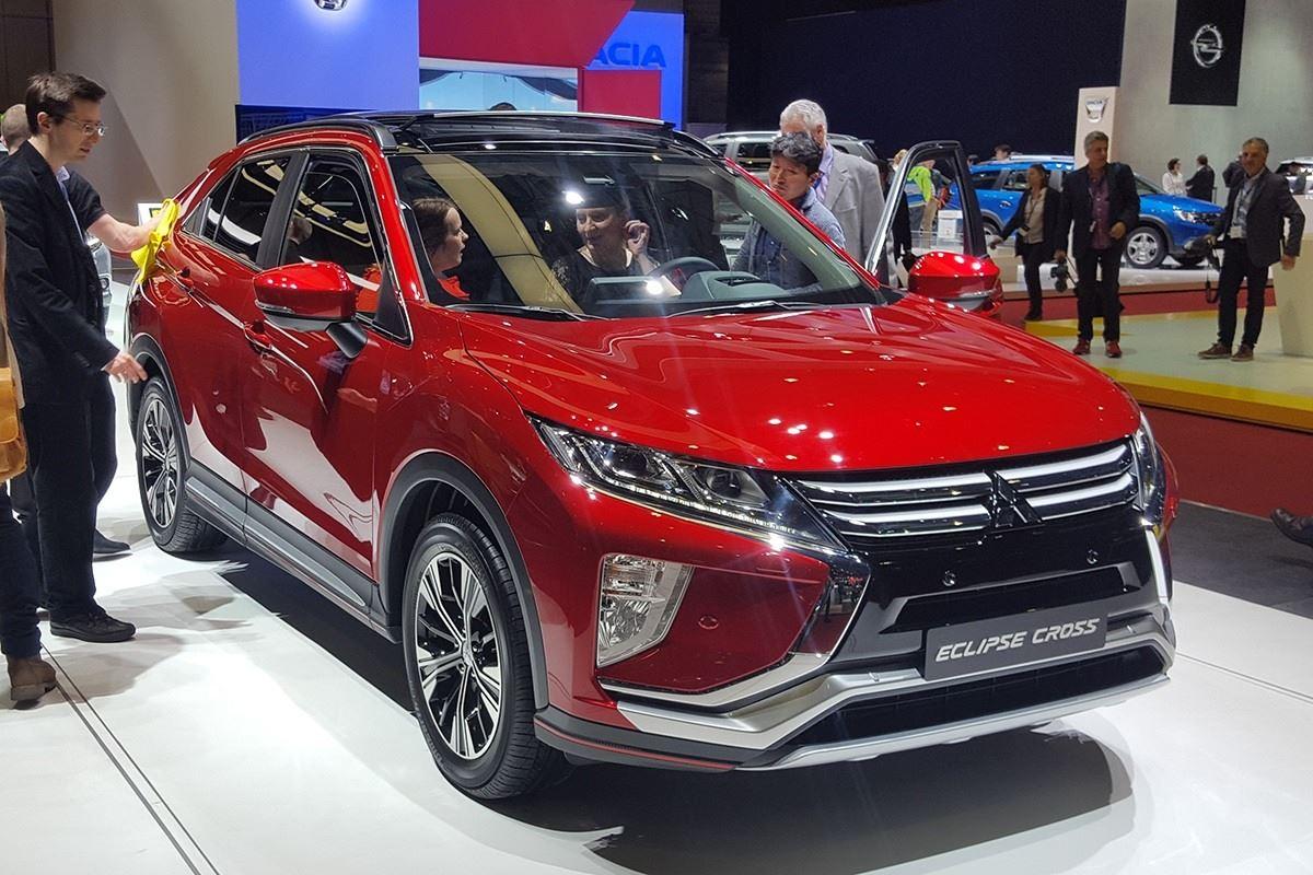 Geneva Motor Show 2017: Mitsubishi unveils Eclipse ...