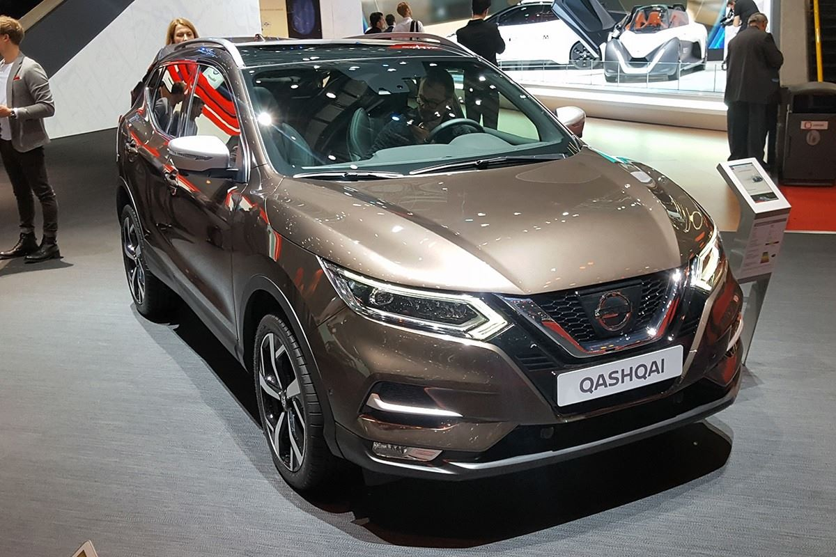 geneva motor show 2017 nissan premieres revised qashqai motoring news honest john. Black Bedroom Furniture Sets. Home Design Ideas