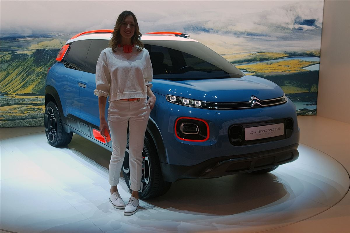 Used Cars For 3000 >> Geneva Motor Show 2017: Citroen C3 Aircross concept previews new C3 Picasso | Motoring News ...