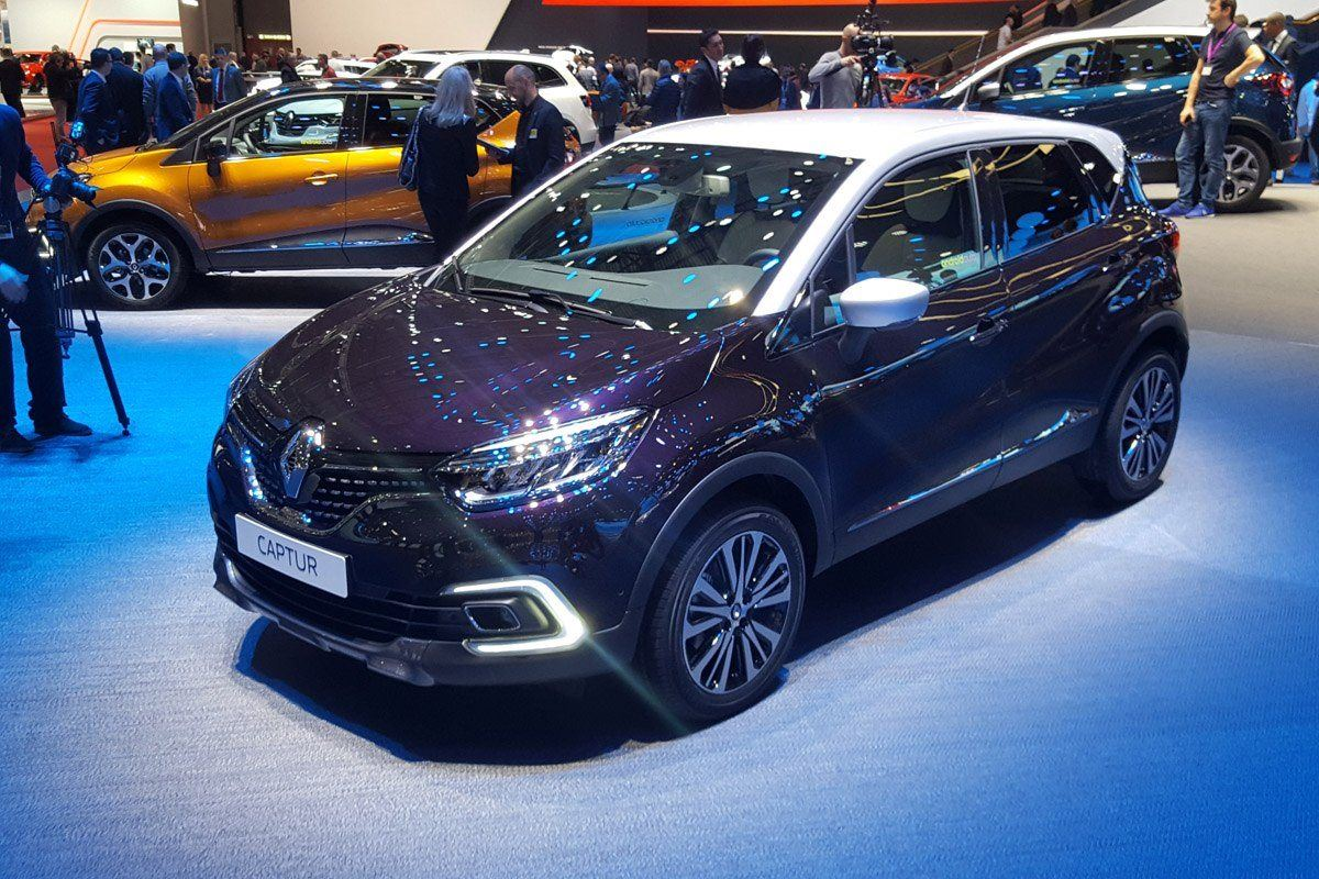 geneva motor show 2017 renault captur gets midlife update. Black Bedroom Furniture Sets. Home Design Ideas