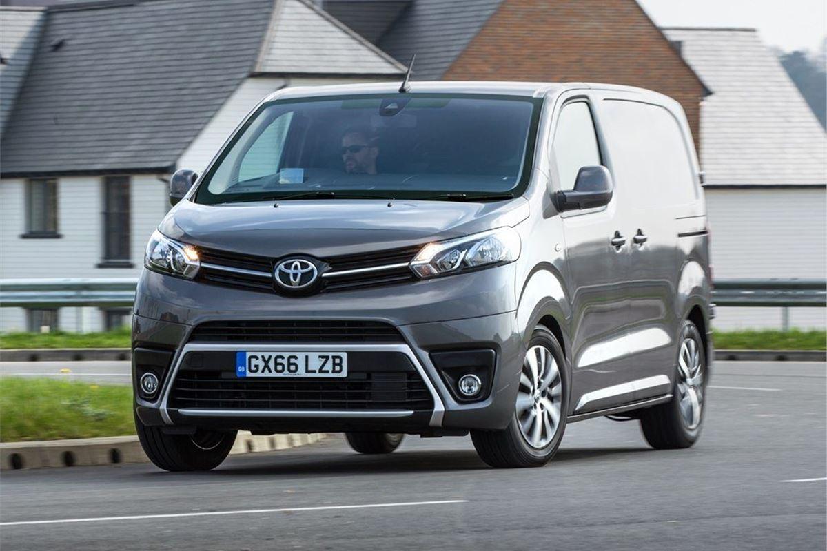 Toyota Proace 2016 Van Review Honest John