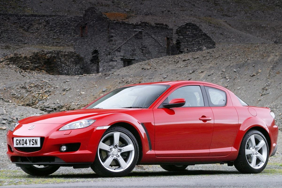 mazda rx 8 classic car review honest john. Black Bedroom Furniture Sets. Home Design Ideas