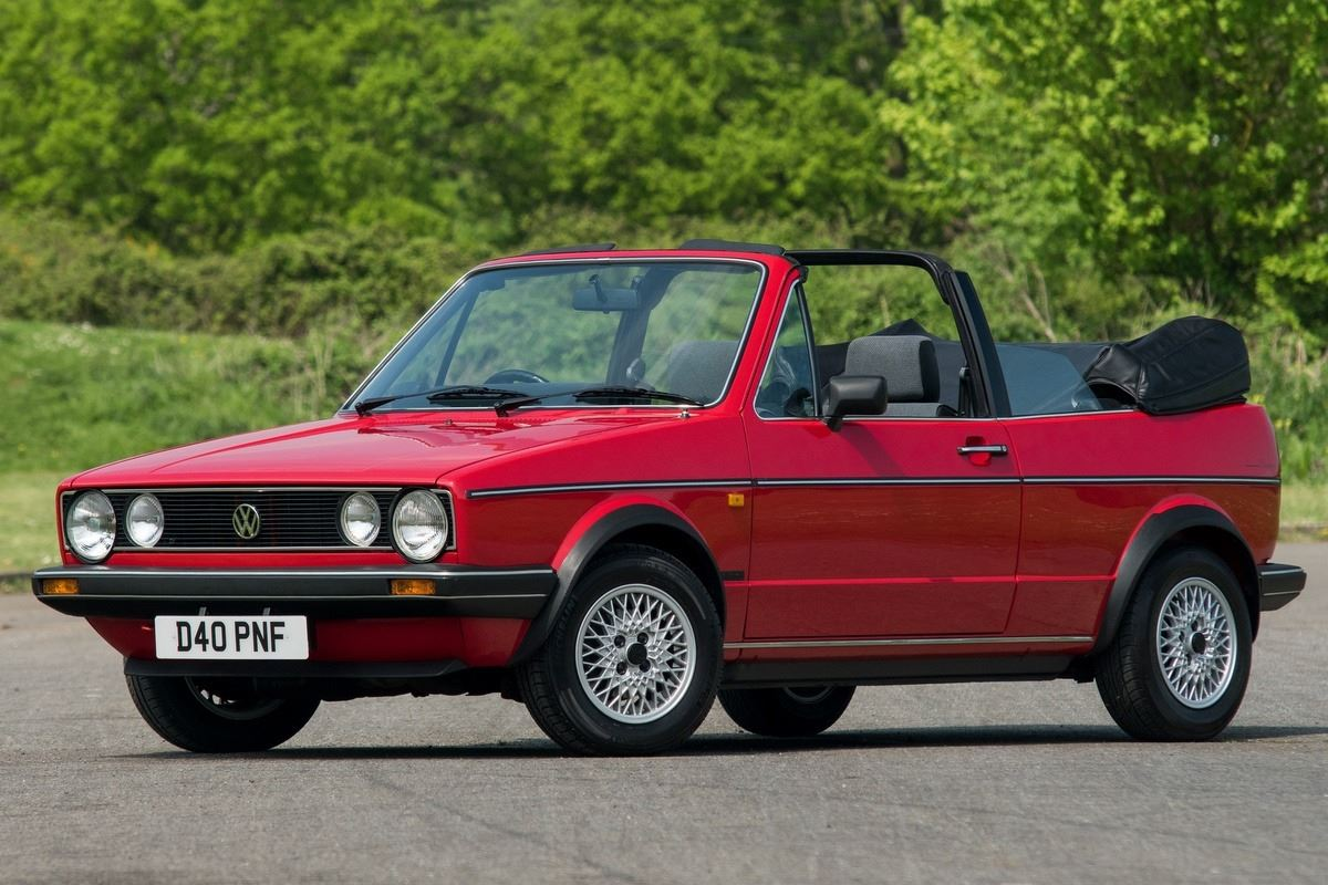 volkswagen golf mk1 cabriolet classic car review. Black Bedroom Furniture Sets. Home Design Ideas