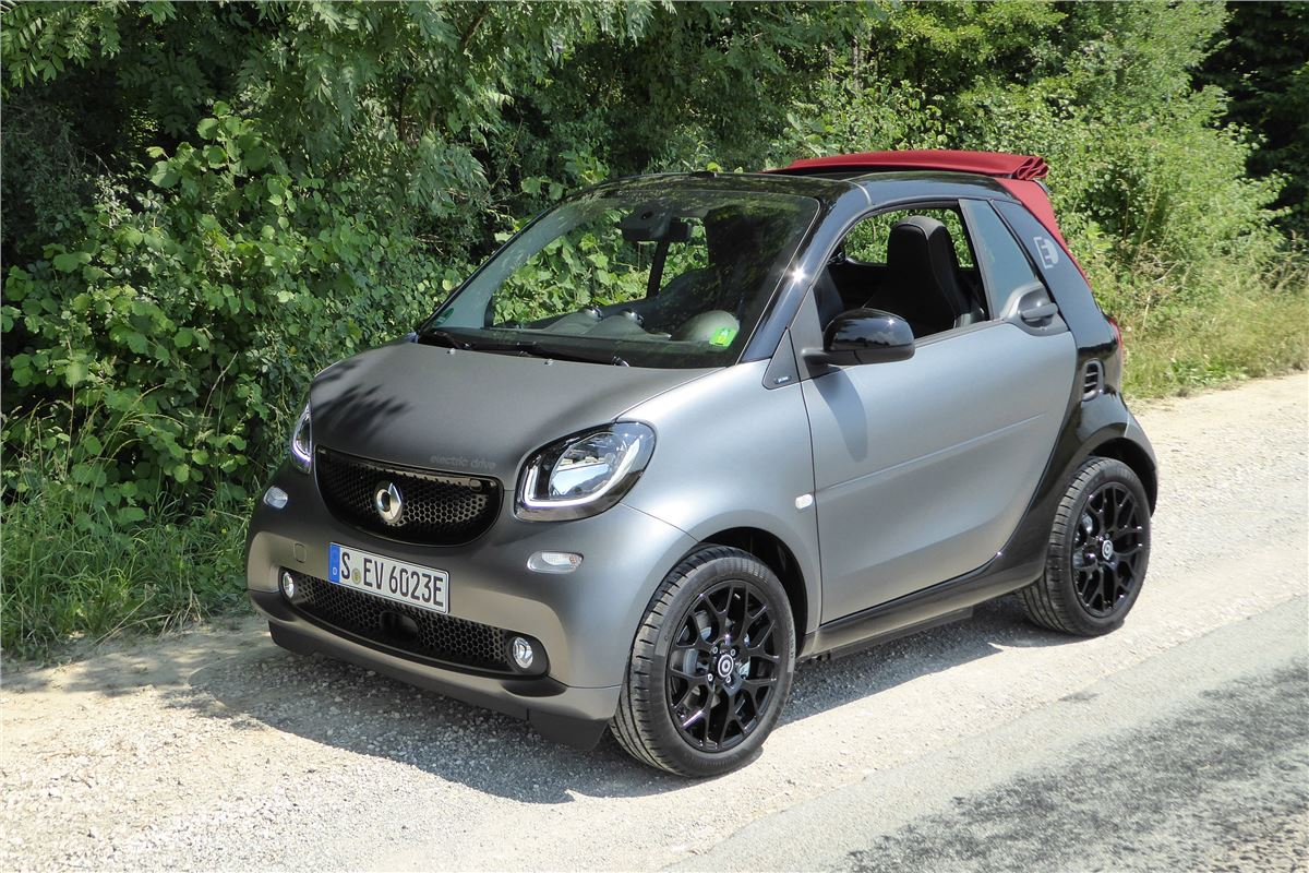 Smart Fortwo Electric Drive Cabrio 2017 Road Test Road