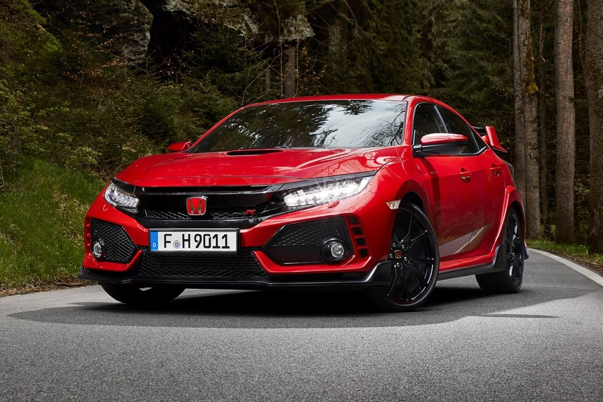 honda civic type r 2017 car review honest john. Black Bedroom Furniture Sets. Home Design Ideas