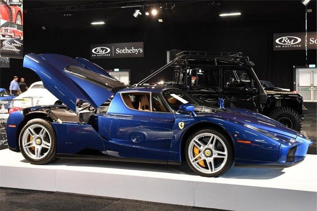 Ferrari Enzo Is Top Lot At Rm Sotheby S London Sale