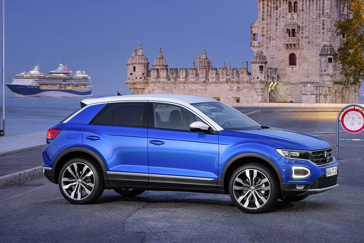 volkswagen t roc 2 0 tdi 2017 road tests honest john. Black Bedroom Furniture Sets. Home Design Ideas