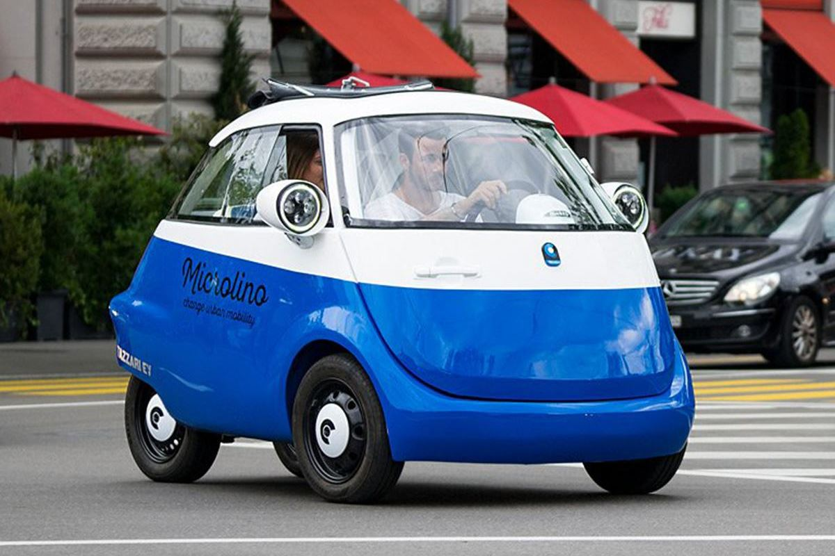 Bmw Isetta Reborn As Electric Bubble Car Motoring News