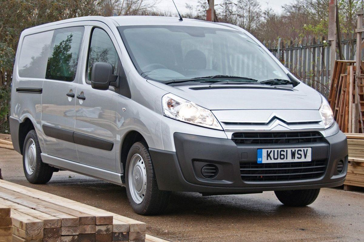 a0c157ffde Top 10  Crew vans with the lowest and cheapest insurance groups ...