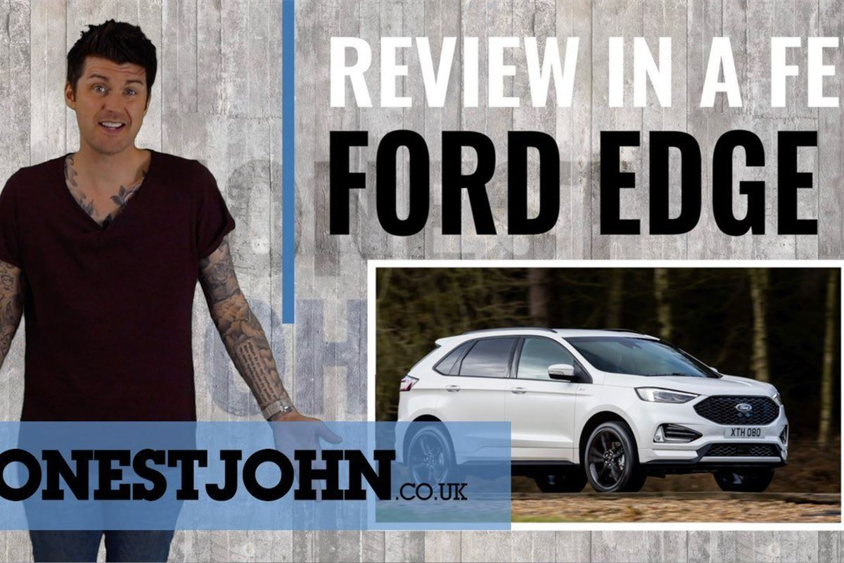 Video Ford Edge Too American For Its Own Good Motoring News Honest John