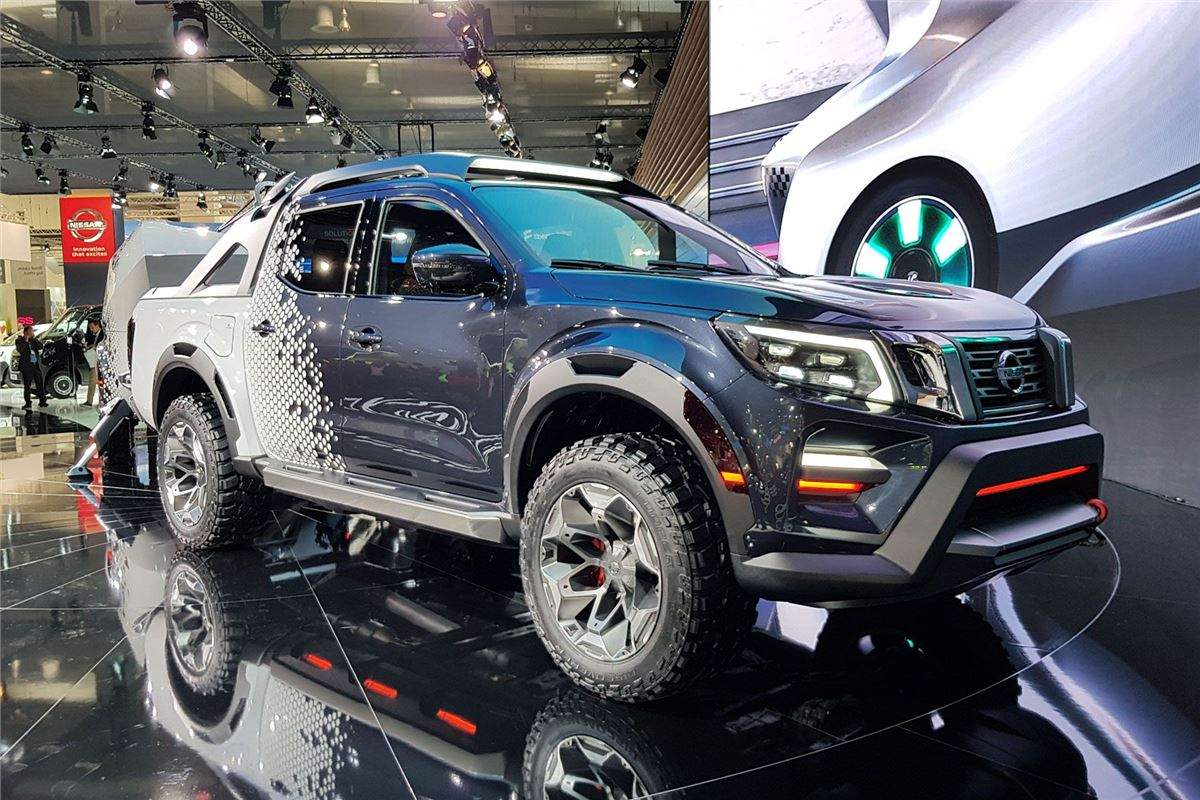 Nissan Frontier Diesel >> Nissan Navara Dark Sky concept features new towing tech ...
