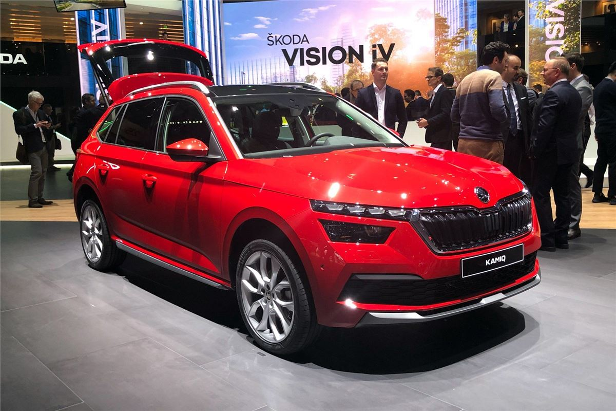 Car Selling Websites >> Geneva Motor Show 2019: Skoda Kamiq takes on SEAT Arona ...