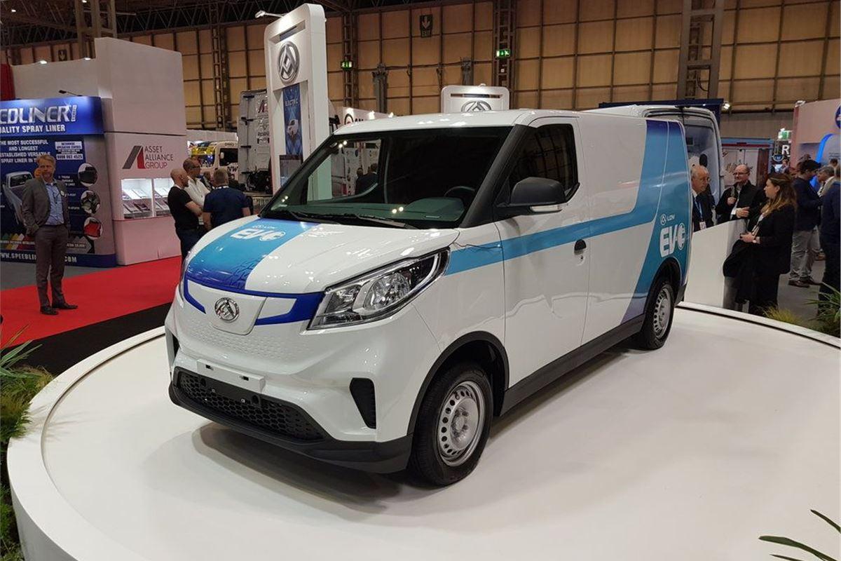 1acbf7f8681902 LDV EV30 electric van launched at £22
