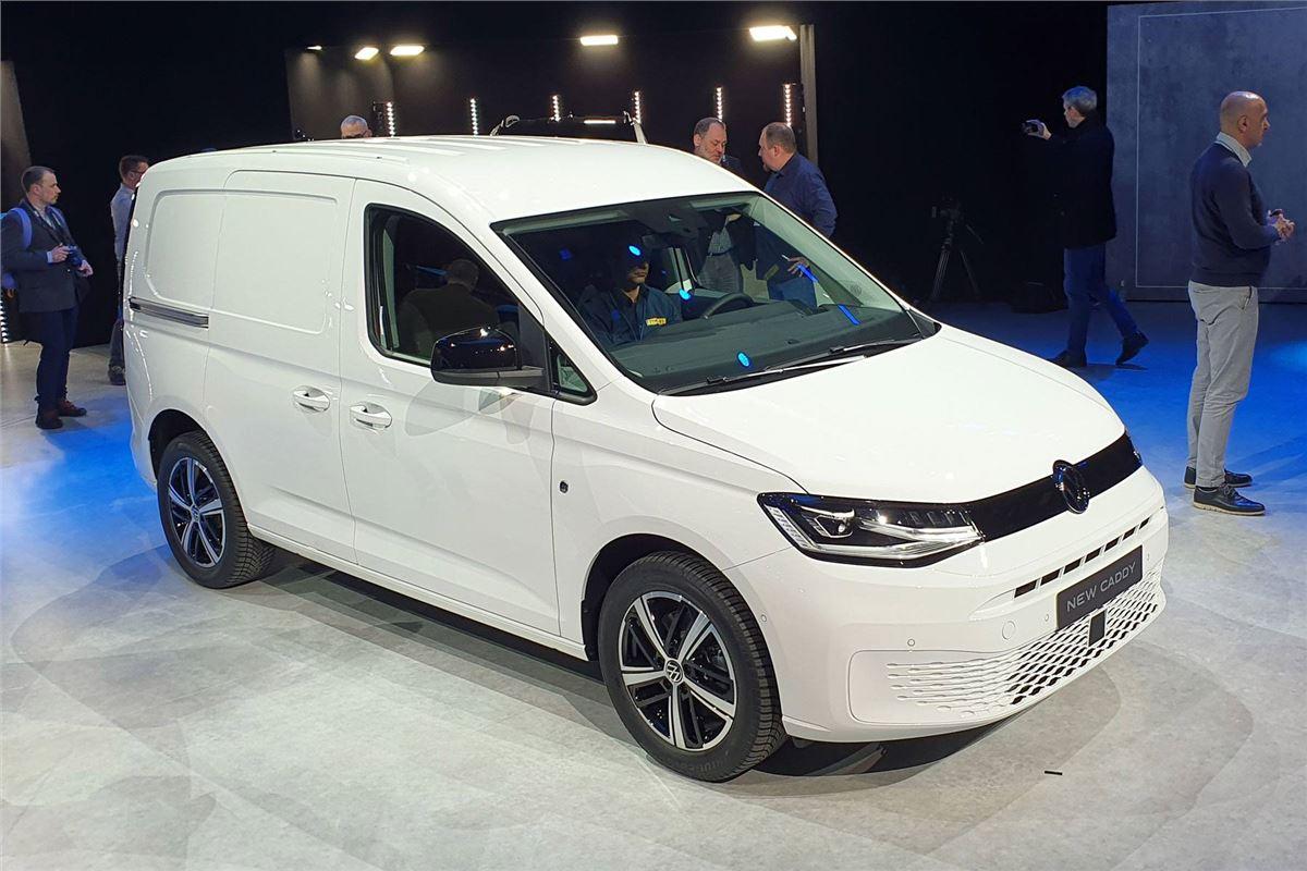 Volkswagen Previews New 2021 Caddy Van Honest John