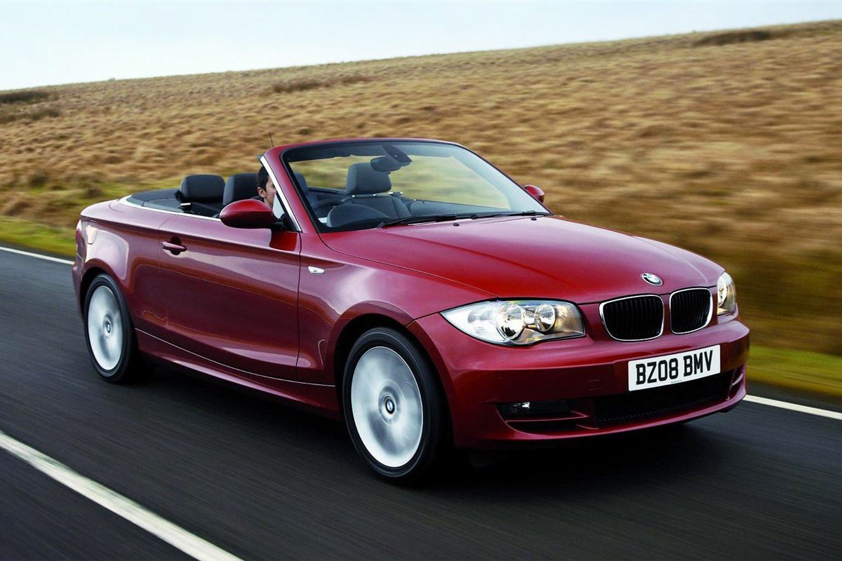 bmw 1 series convertible 2008 car review honest john. Black Bedroom Furniture Sets. Home Design Ideas