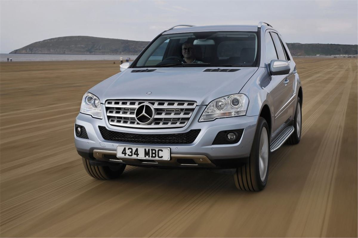Mercedes benz ml class w164 2005 car review honest john for Ml mercedes benz