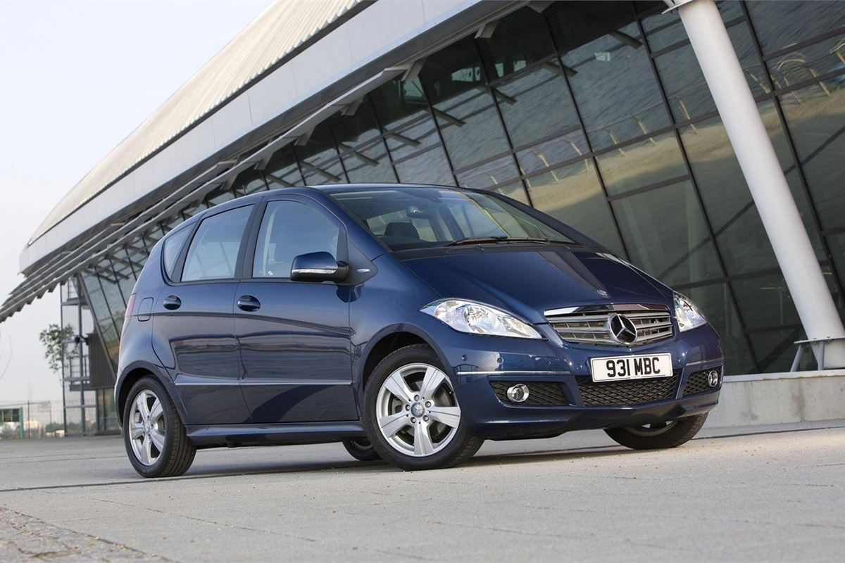 Mercedes benz a class w169 2005 car review honest john for Mercedes benz a class