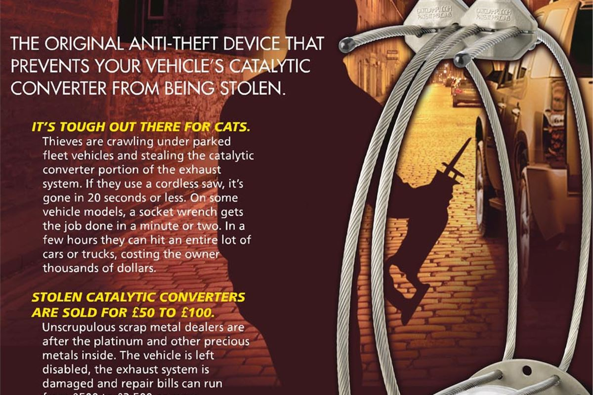 New Device Impedes Theft of Catalytic Converters ...