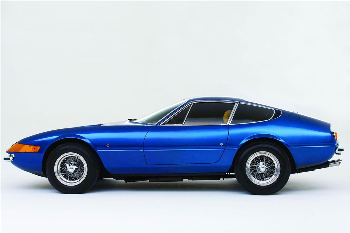 Ferrari Daytona Driven By Hrh Prince Charles Up For