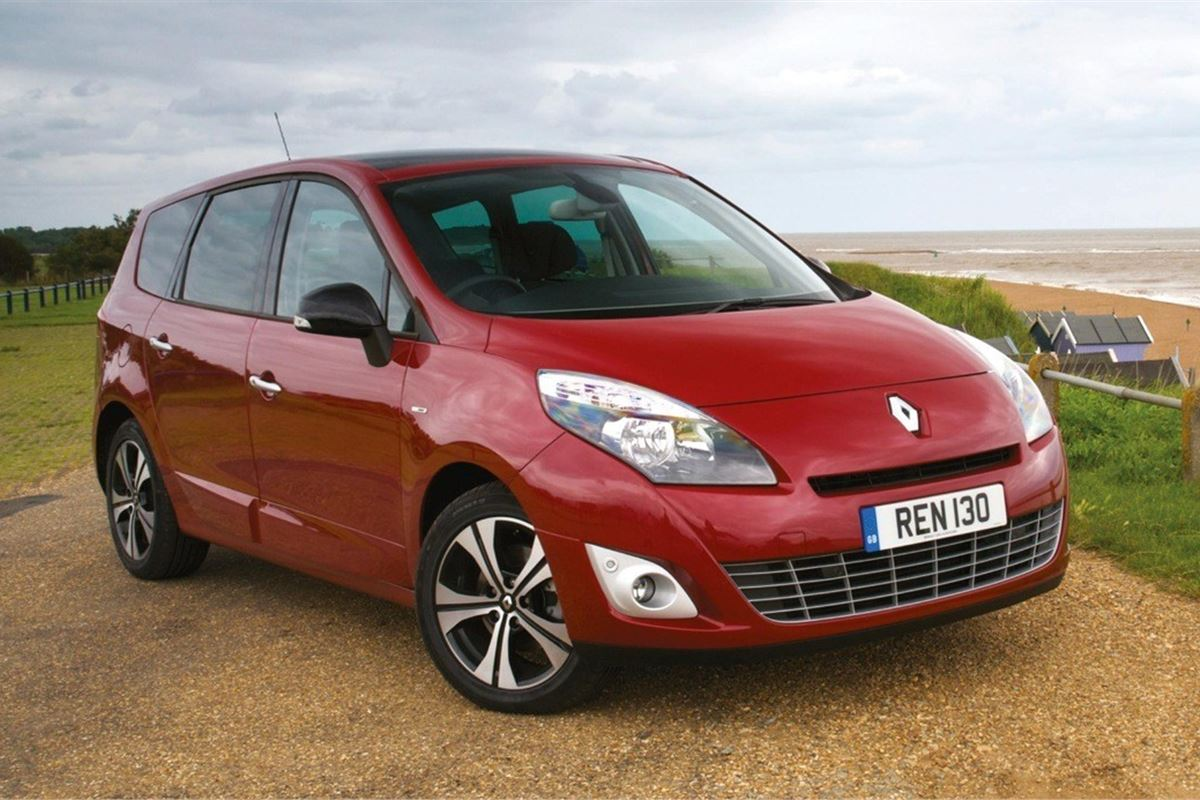 renault scenic 2009 car review honest john. Black Bedroom Furniture Sets. Home Design Ideas