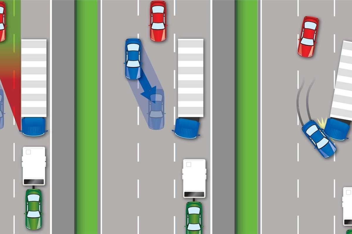 Lhd Hgv Blindspot Crashes Cost 163 57 Million A Year