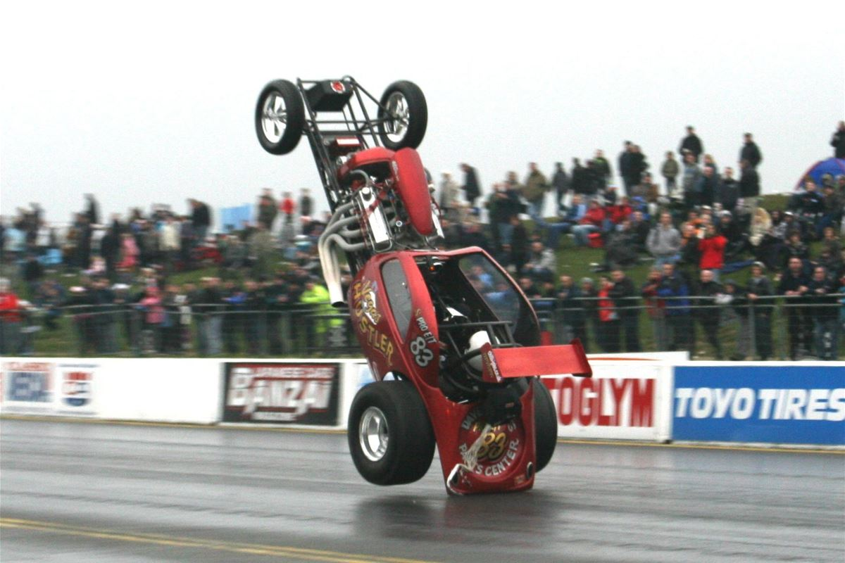 Fast Show Season Opener At Santa Pod Raceway On 25th March