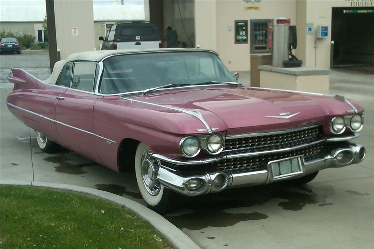 1959 Cadillac DeVille For Sale in USA | Motoring News | Honest John