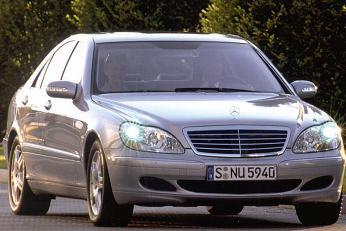 Mercedes benz s class w220 2001 road test road tests for Pay mercedes benz online