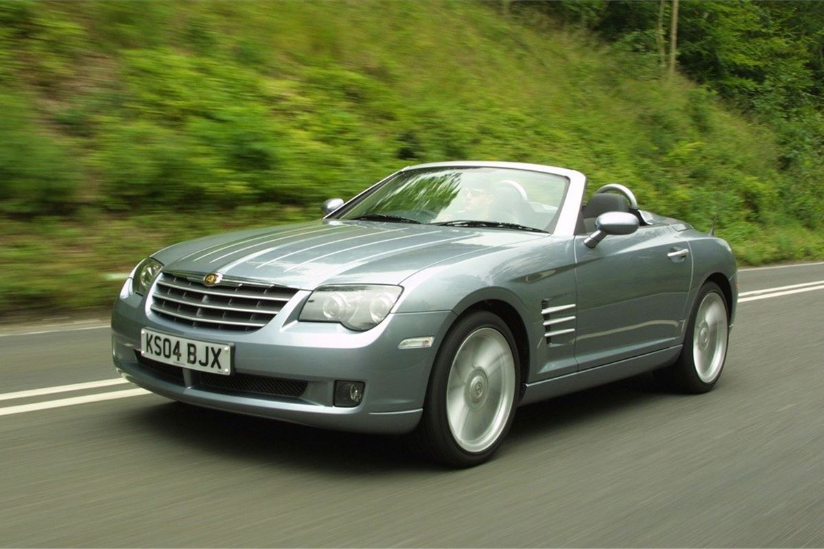 chrysler crossfire 2003 car review honest john. Black Bedroom Furniture Sets. Home Design Ideas