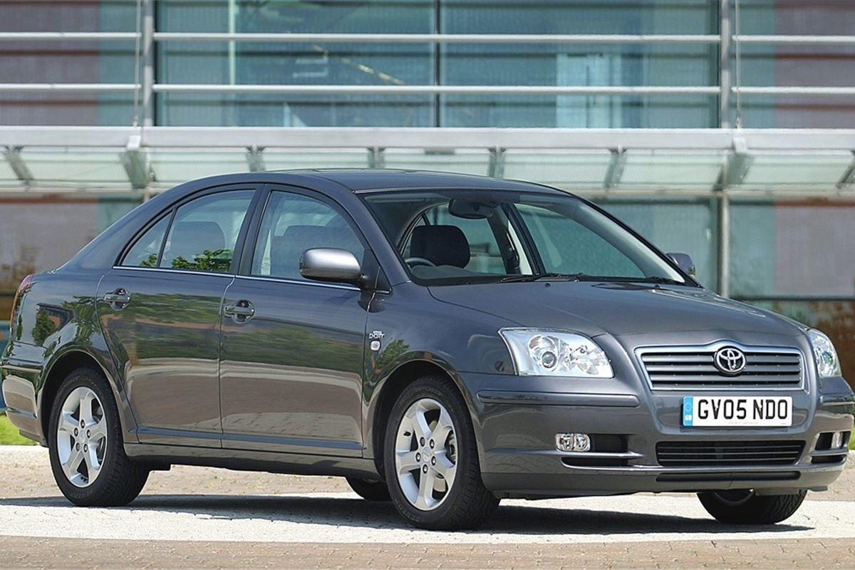 toyota avensis 2003 car review honest john. Black Bedroom Furniture Sets. Home Design Ideas