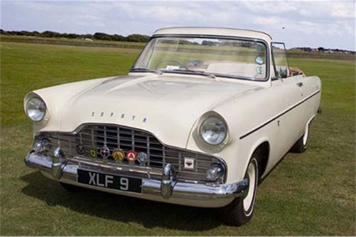 1957 Ford Zephyr Convertible Makes £22,412 at Barons