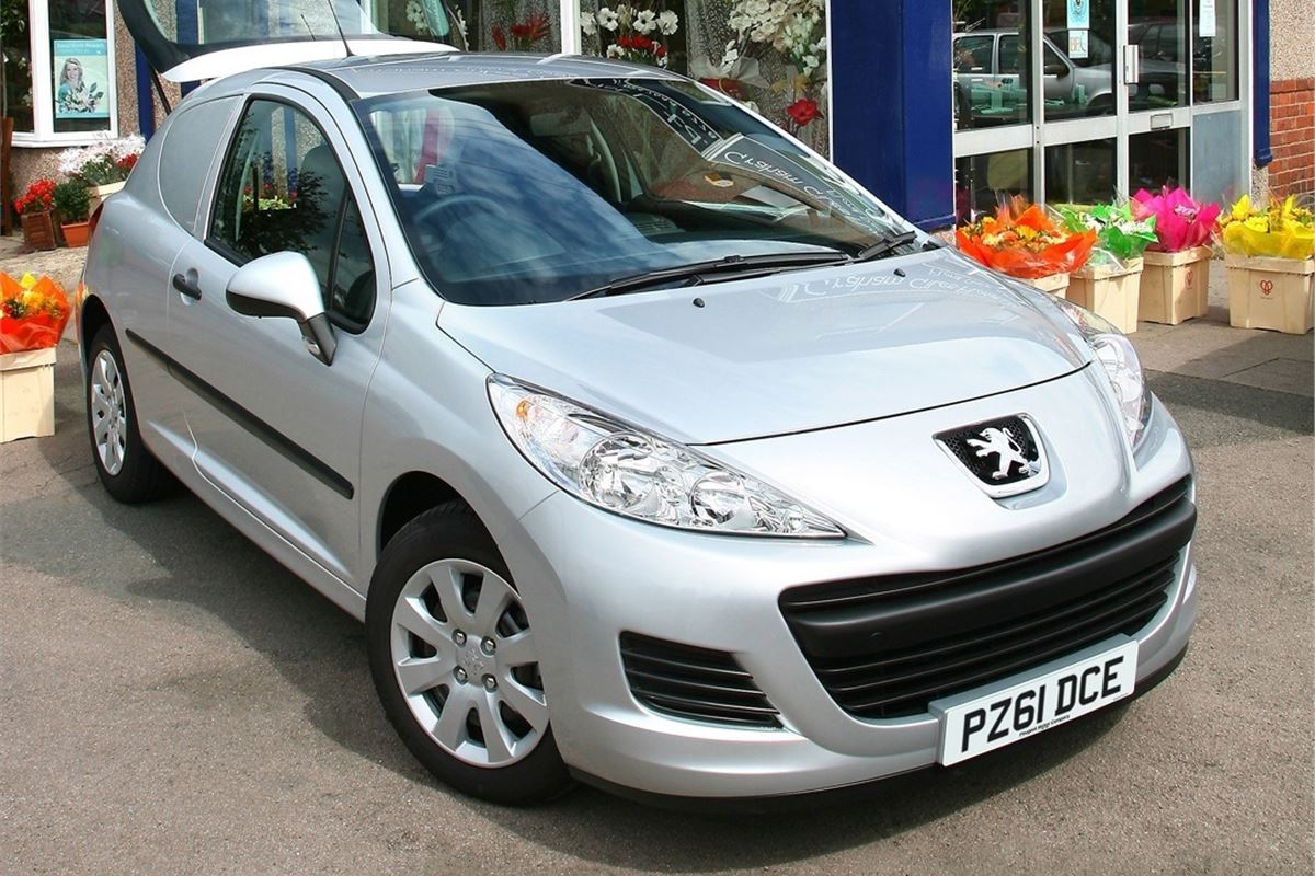 peugeot 207 van 2007 van review honest john. Black Bedroom Furniture Sets. Home Design Ideas