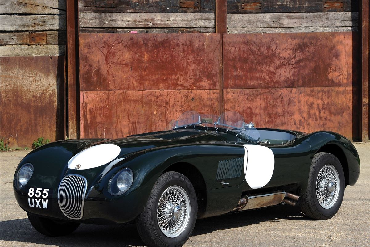 jaguar c type classic car review honest john. Black Bedroom Furniture Sets. Home Design Ideas