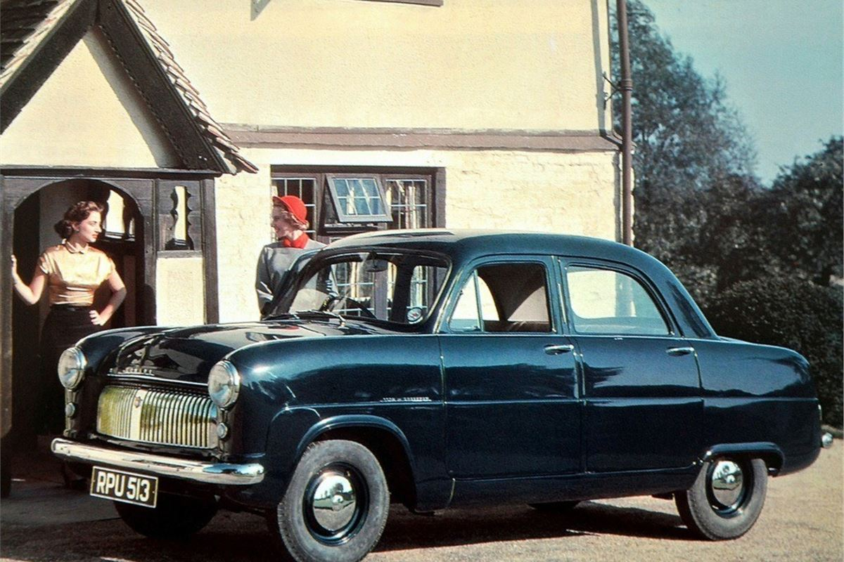 Ford Consul Zephyr Zodiac Mk1 Classic Car Review