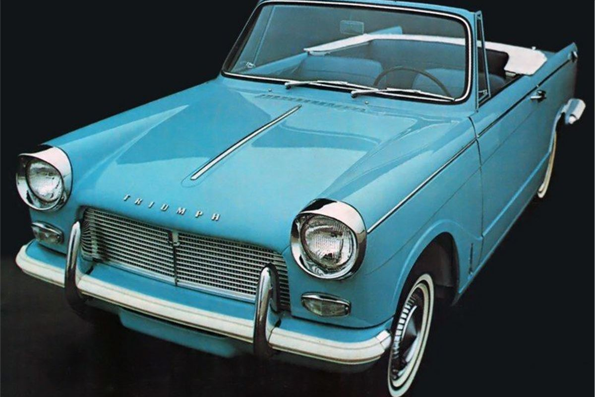 Triumph Herald Classic Car Review Honest John