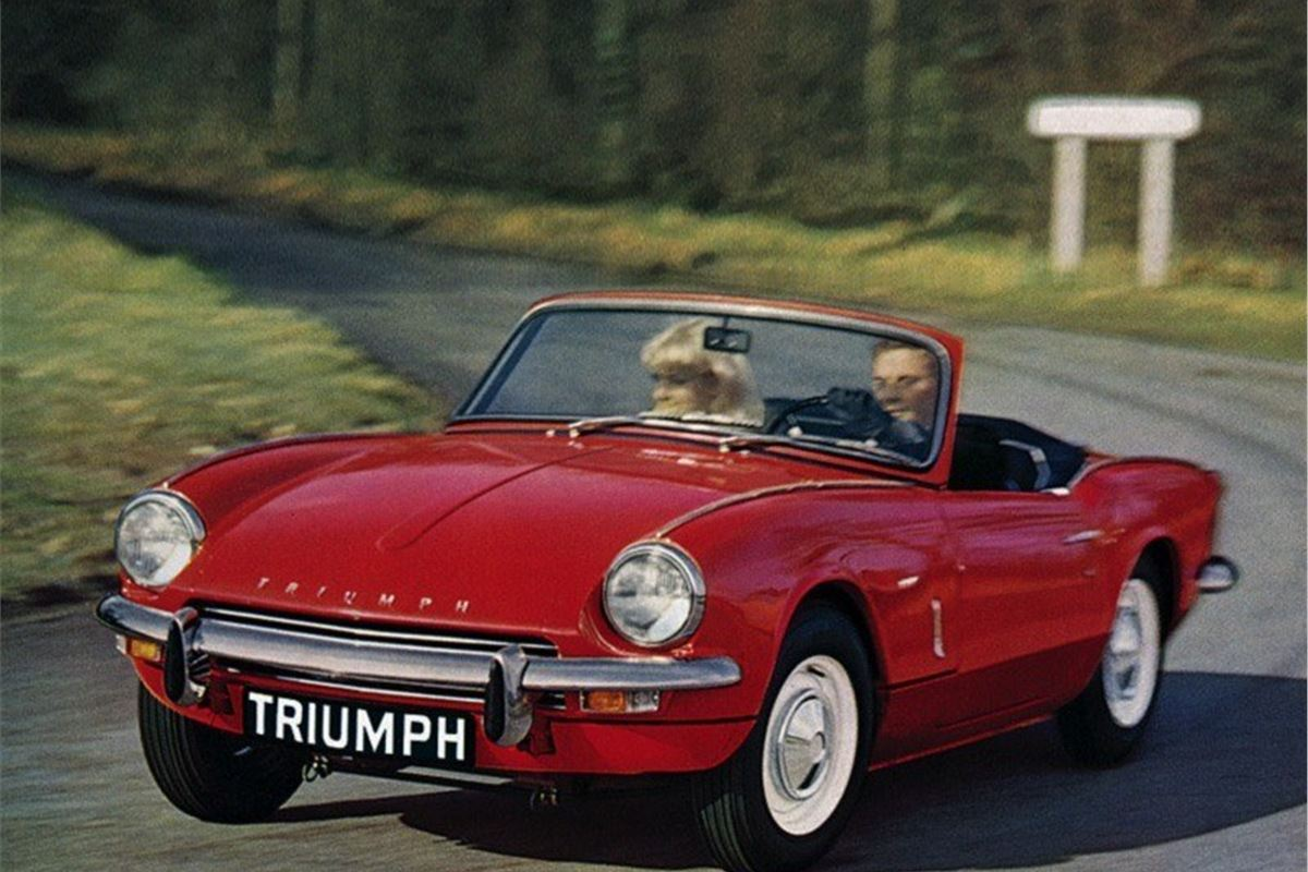 Two Car Garages Triumph Spitfire Classic Car Review Honest John