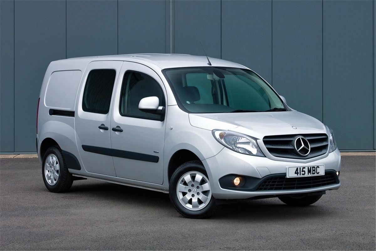 Mercedes benz citan 2013 van review honest john for Mercedes benz work vans