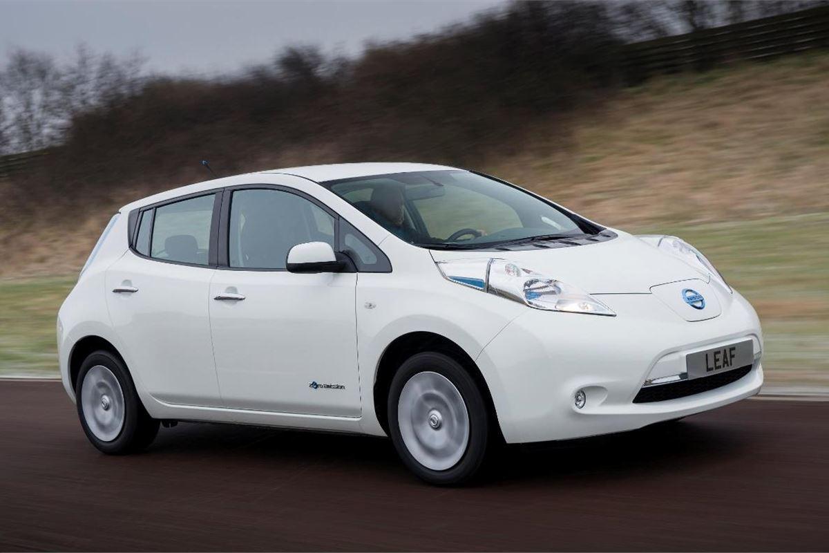 nissan updates leaf electric vehicle motoring news. Black Bedroom Furniture Sets. Home Design Ideas